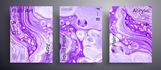 Abstract banner,  fluid art covers.