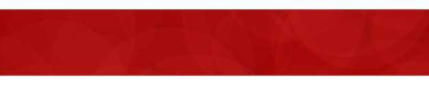 Абстрактный баннер полупрозрачных кругов в красных тонах