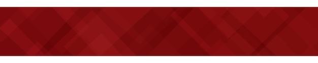 Абстрактный баннер из полупрозрачных квадратов или ромбов в красных тонах