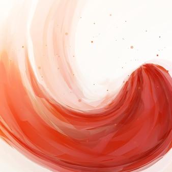 抽象的なバナーは、背景、カラフルなアートイラストをペイントします