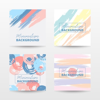 Abstract banner template pack