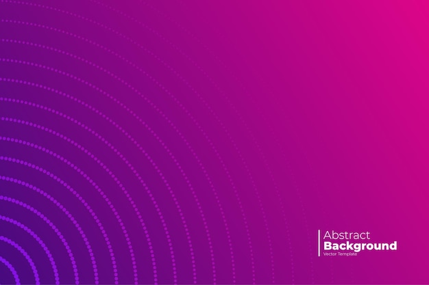 Abstract banner with gradient background