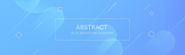 The abstract banner with the gradient shapes and the blur background with light colors. the dynamic shape composition.