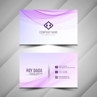 Abstract beautiful business card background