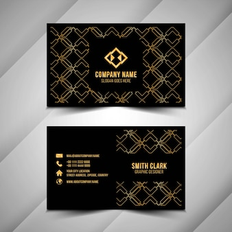 Abstract beautiful business card template