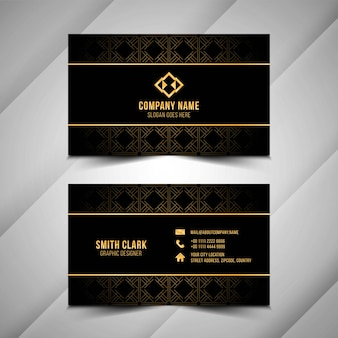 Abstract beautiful business card