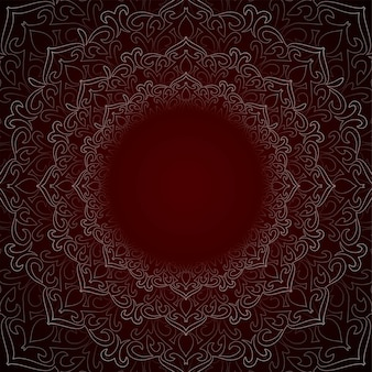 Abstract beautiful decorative mandala background