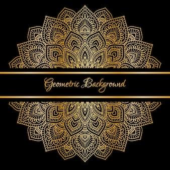 Abstract beautiful mandala design background