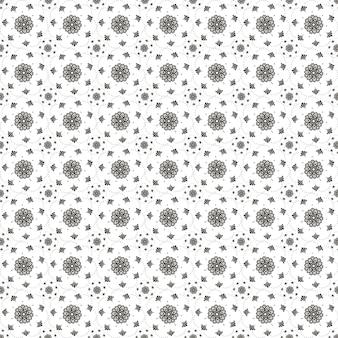 인쇄에 대 한 추상 아름 다운 패턴 디자인 장식 배경 아랍어 스타일 장식 만다라