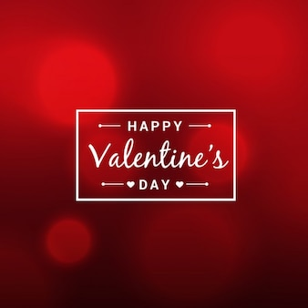 Abstract beautiful valentines day red background
