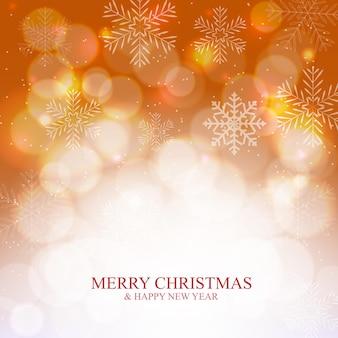 눈, 눈송이와 추상적인 아름다움 크리스마스와 새 해 배경. 벡터 일러스트 레이 션