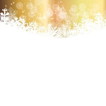 抽象的な美しさのクリスマスと新年の背景。
