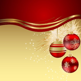 抽象的な美しさのクリスマスと新年の背景