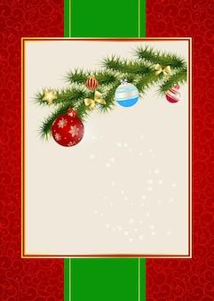 Абстрактная предпосылка приглашения рождества и нового года красоты. ve