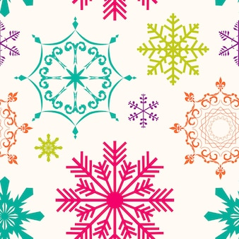 Abstract beauty christmas and new year seamless background. vector illustration. eps10
