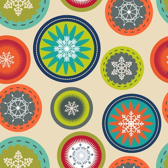 Abstract beauty christmas and new year seamless pattern background. vector illustration. eps10