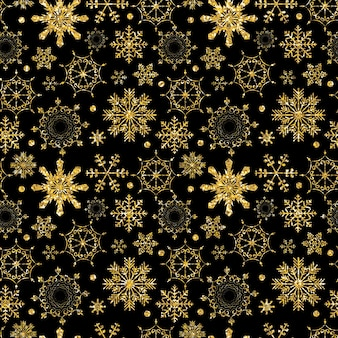 Abstract beauty christmas and new year seamless pattern background vector illustration