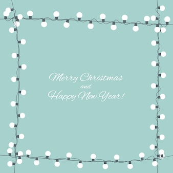 Abstract beauty merry christmas and new year background. vector