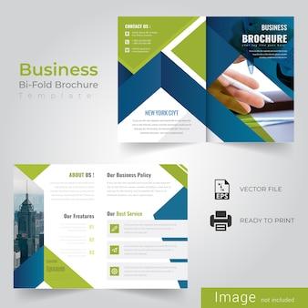 Abstract bi fold brochure