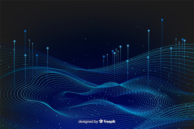 Abstract big data concept background
