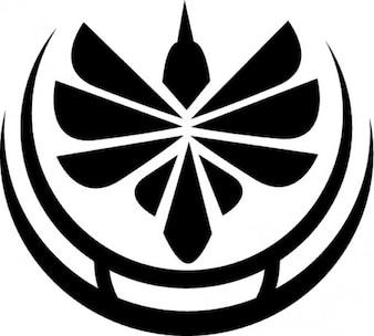 Abstract bird logotype
