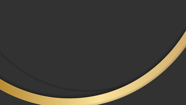 프레 젠 테이 션 배경에 대 한 추상 검은 색과 금색 럭셔리 배경
