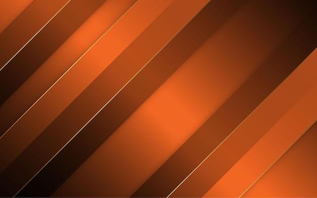 추상 검정과 오렌지 색상 대각선 배경