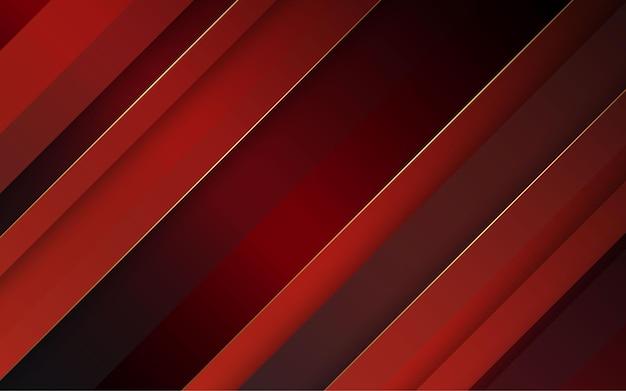 추상 검정과 빨강 색상 대각선 배경