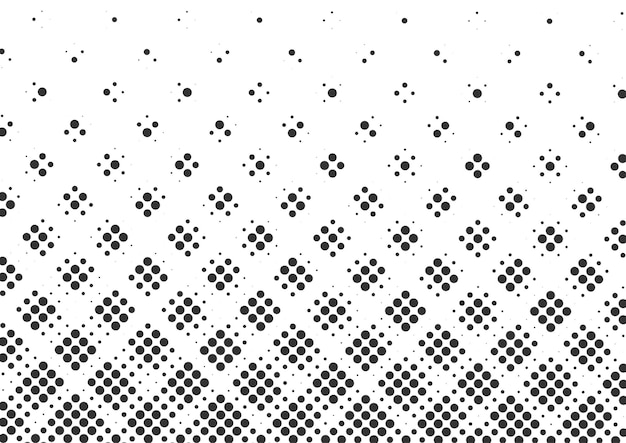 Абстрактный фон полутоновых черно-белых точек, дизайн фона полутонов