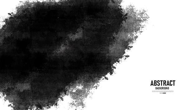 Абстрактный черный и белый гранж текстуру фона