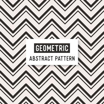 抽象的な白と黒のシームレスなパターン。