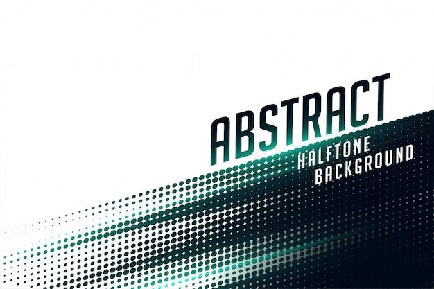 抽象的な黒と白の高速パターンハーフトーンの背景