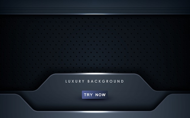 Abstract black background technology concept