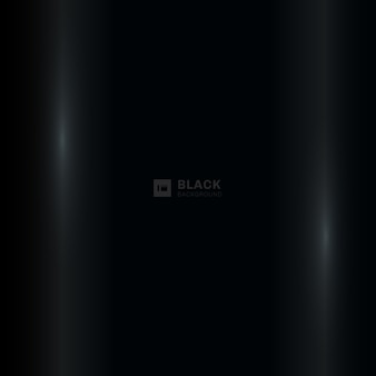 Abstract black background with lighting