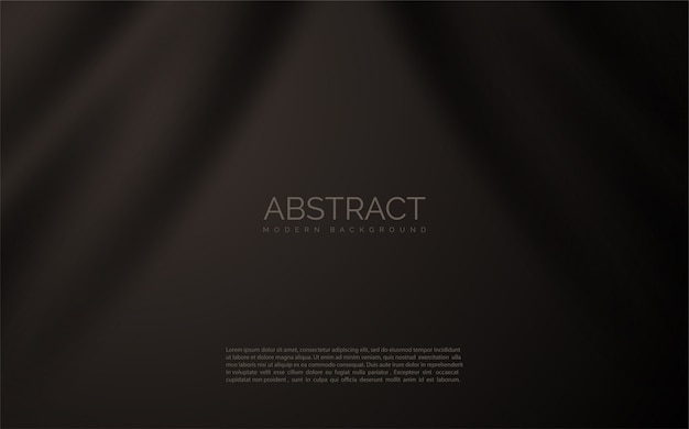 Abstract  black cloth .