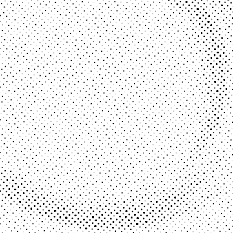 Abstract black curve  halftone background