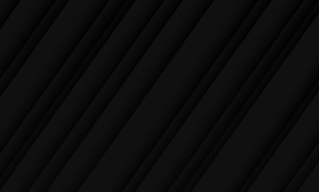 추상 검은 어두운 그림자 선 패턴 디자인 현대 럭셔리 미래 배경.