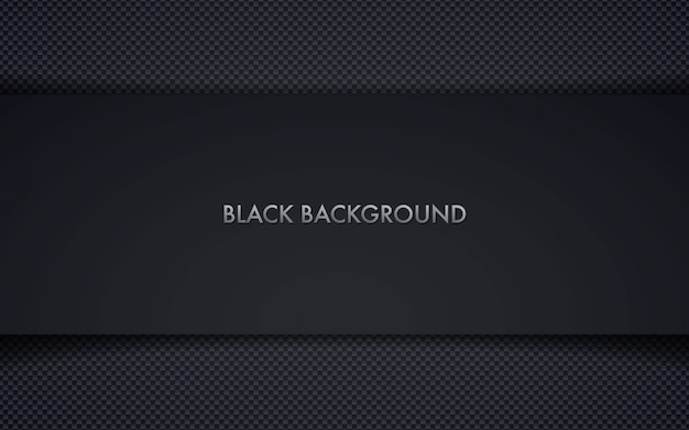 Abstract black frame background