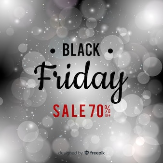 Abstract black friday sale background with glitter