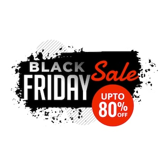 Abstract black friday sale grunge background