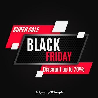 Priorità bassa astratta di vendite di venerdì nero