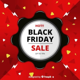 Abstract black friday sales background