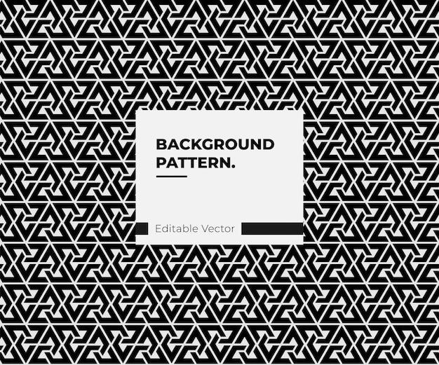 Абстрактный черный геометрический узор