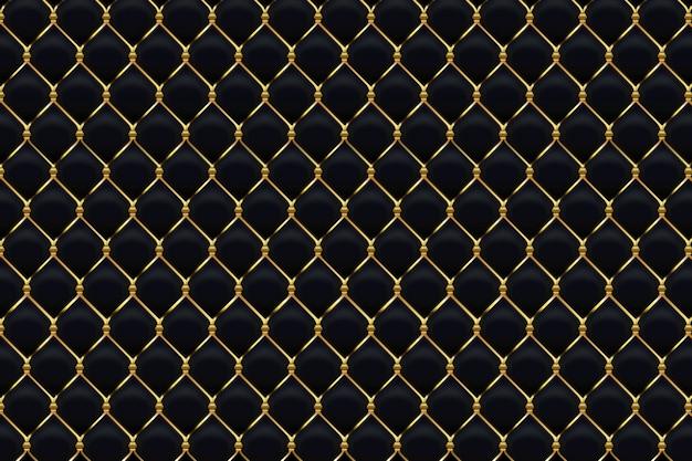 Абстрактный черный золотой фон с диагональными золотыми линиями