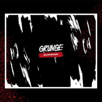 Abstract black gritty grunge background