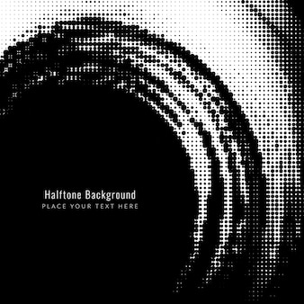 Abstract black halftone background