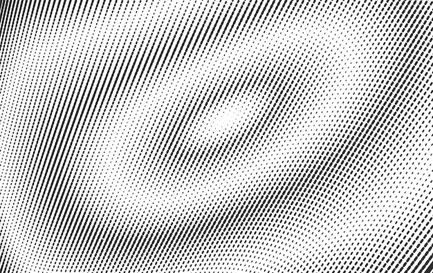 Abstract black halftone lined background