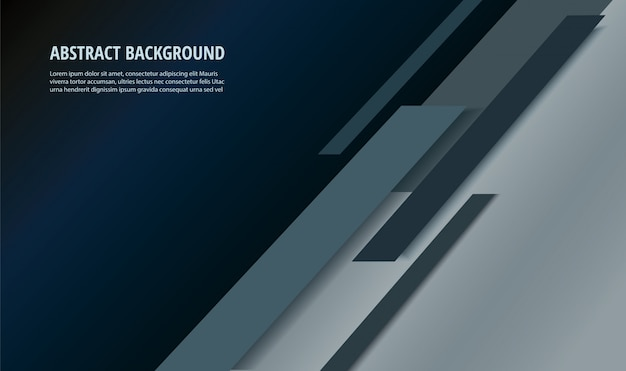 Abstract black line background