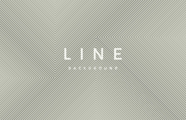 Abstract black line geometric square shape pattern on gray background