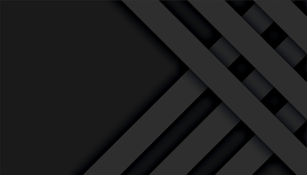Abstract black lines geometric background